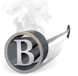 Brand iron B